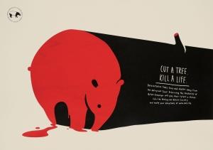 malaysian-nature-society-malaysian-nature-society-tapir-rhino-hornbill-fish-print-376749-adeevee