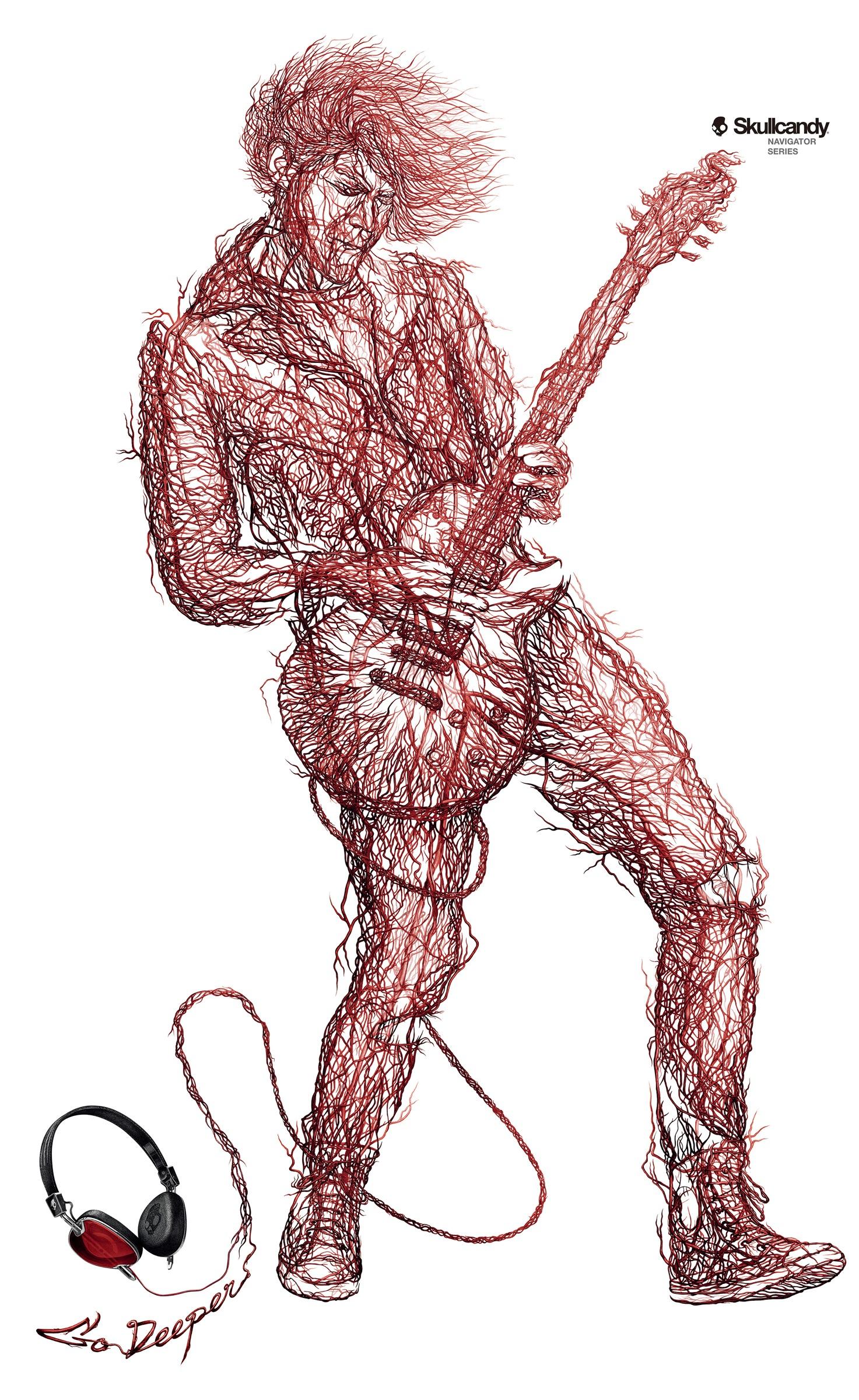 Skullcandy: Por las venas y arterias (China) | estudio1430
