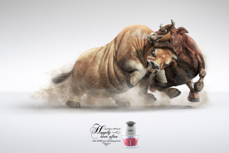otto-meat-blender-cock-fighting-pig-fighting-cow-fighting-outdoor-print-381688-adeevee